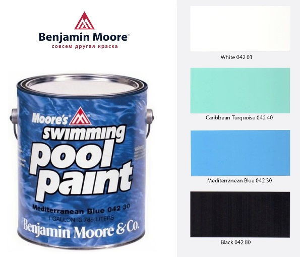 Краска Swimming Pool Paint для бассейнов